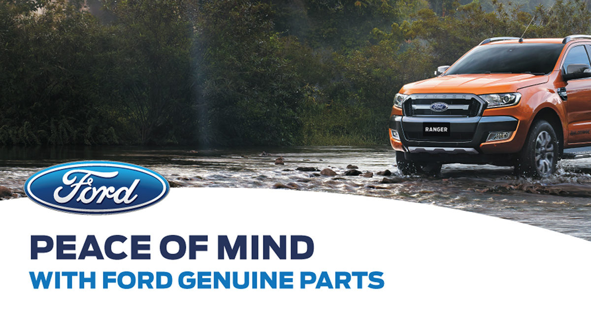 Ford genuine parts pricing for June, July & August