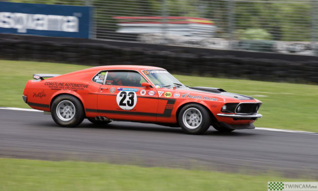 Ford's motorsport heritage to be celebrated at Taupo Historic GP meeting in January