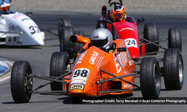 The good money is on Penrose for the 2021 NZ Formula Ford title
